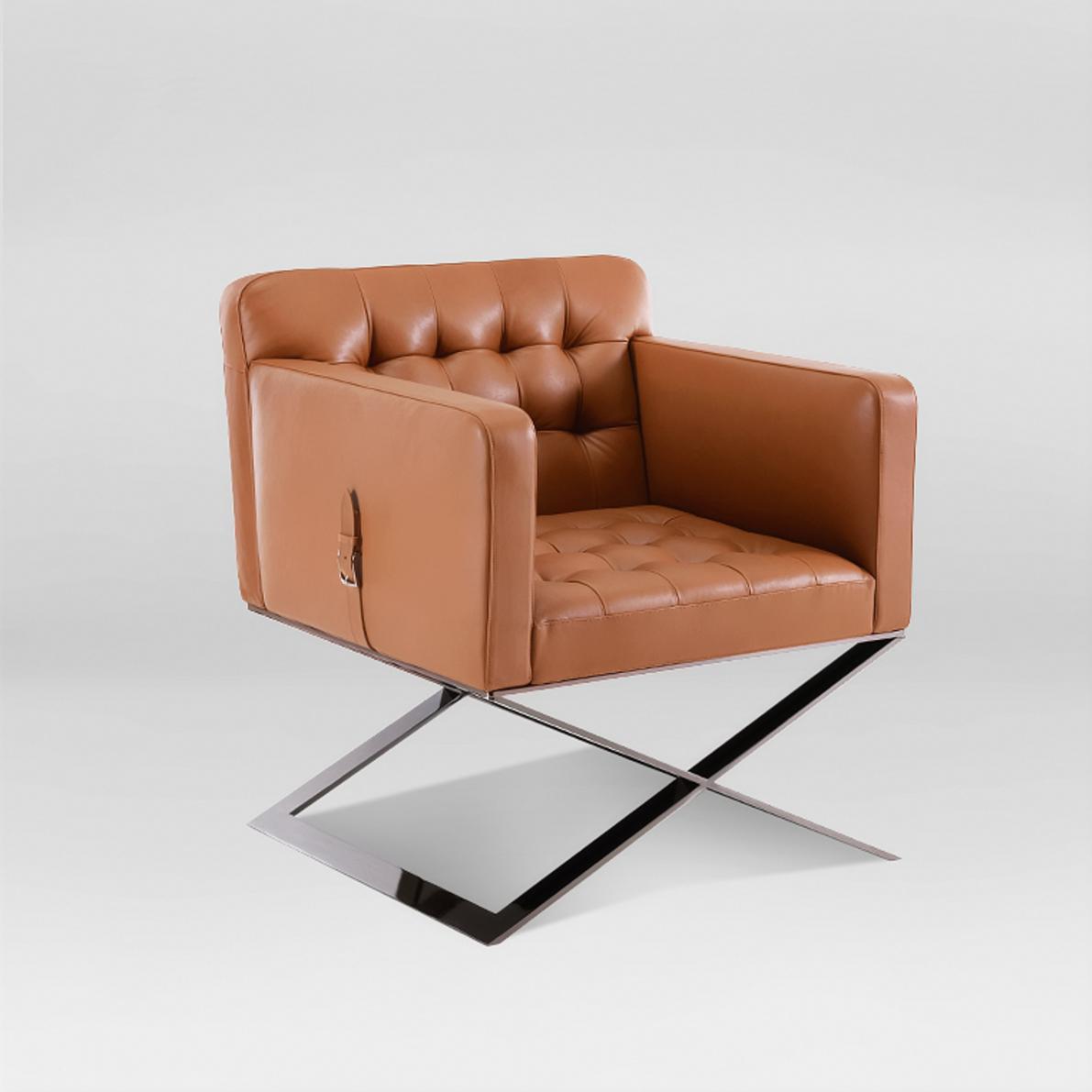 Кожаное кресло АСъ-28